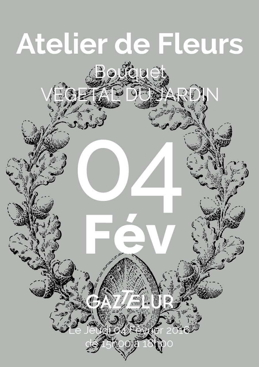 Gaztelur atelier de fleurs bouquets de jardin vegetal for Bouquet de fleurs 2016